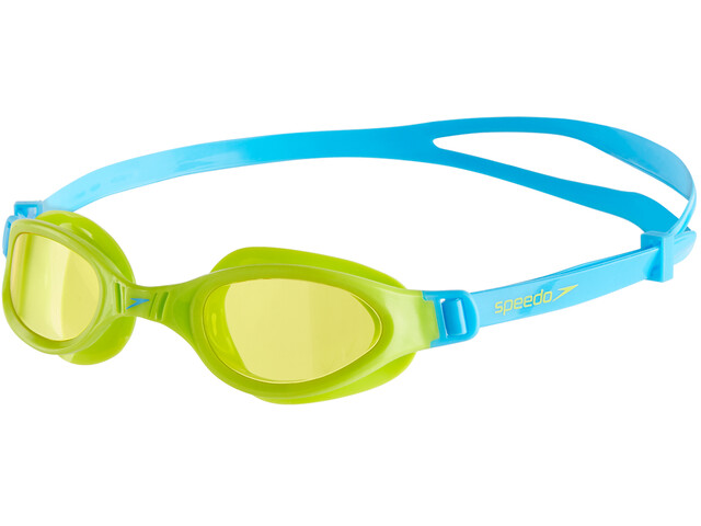 speedo Futura Plus Goggles Kids, peppermint/lime
